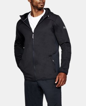 New Arrival  Men's ColdGear® Reactor Fleece Full Zip Hoodie  5 Colors $94.99