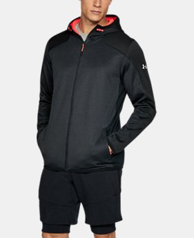 New Arrival  Men's ColdGear® Reactor Fleece Full Zip Hoodie  3 Colors $94.99