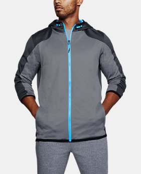 Men's ColdGear® Reactor Fleece Full Zip Hoodie  5  Colors Available $50.99 to $63.74