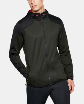 Best Seller Men's ColdGear® Reactor Fleece Full Zip Hoodie  1 Color $84.99