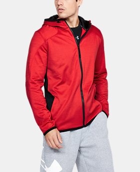 New Arrival  Men's ColdGear® Reactor Fleece Full Zip Hoodie  1 Color $94.99