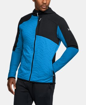 Men's ColdGear® Reactor Fleece Insulated Full Zip Hoodie  1 Color $159.99