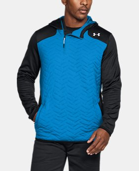 New Arrival Men's ColdGear® Reactor Fleece Insulated ¼ Zip Hoodie  2 Colors $109.99
