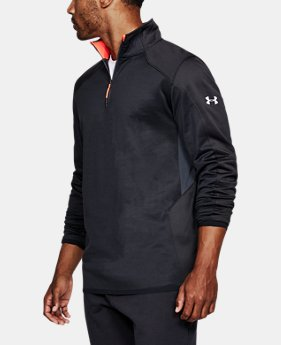 Best Seller Men's ColdGear® Reactor Fleece ¼ Zip  3 Colors $69.99