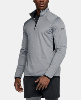 New Arrival Men's ColdGear® Reactor Fleece ¼ Zip  3 Colors $69.99