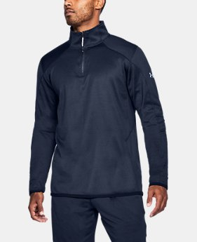 Men's ColdGear® Reactor Fleece ¼ Zip  1 Color $41.99