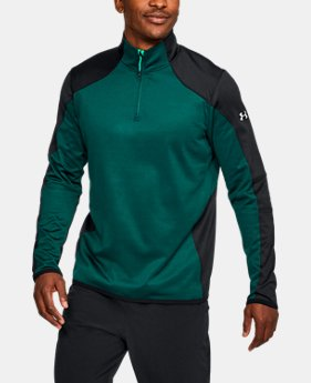 Best Seller Men's ColdGear® Reactor Fleece ¼ Zip  1 Color $69.99