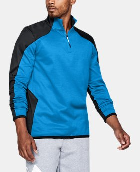 Best Seller Men's ColdGear® Reactor Fleece ¼ Zip  2 Colors $69.99