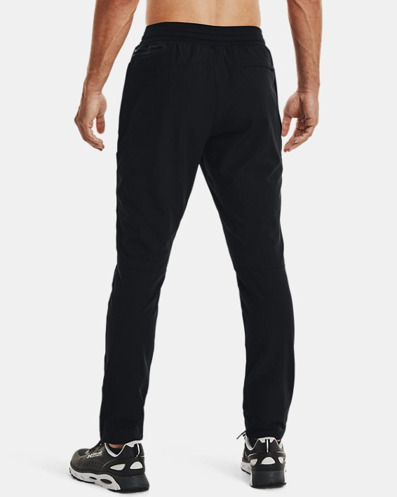 Men's UA WG Woven Pants, Black, pdpMainDesktop image number 3