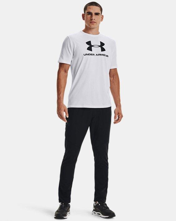 Pantalon UA WG Woven pour homme, Black, pdpMainDesktop image number 1