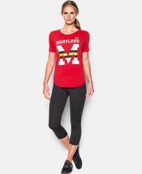 Women's Maryland UA Cotton Modal Graphic T-Shirt