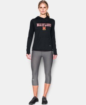 New to Outlet Women's Maryland UA French Terry Hoodie  1 Color $56.99