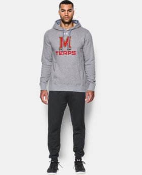 Men's Maryland UA Rival Fleece Hoodie  1 Color $54.99