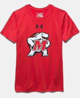 Boys' Maryland UA Tech™ Short Sleeve T-Shirt