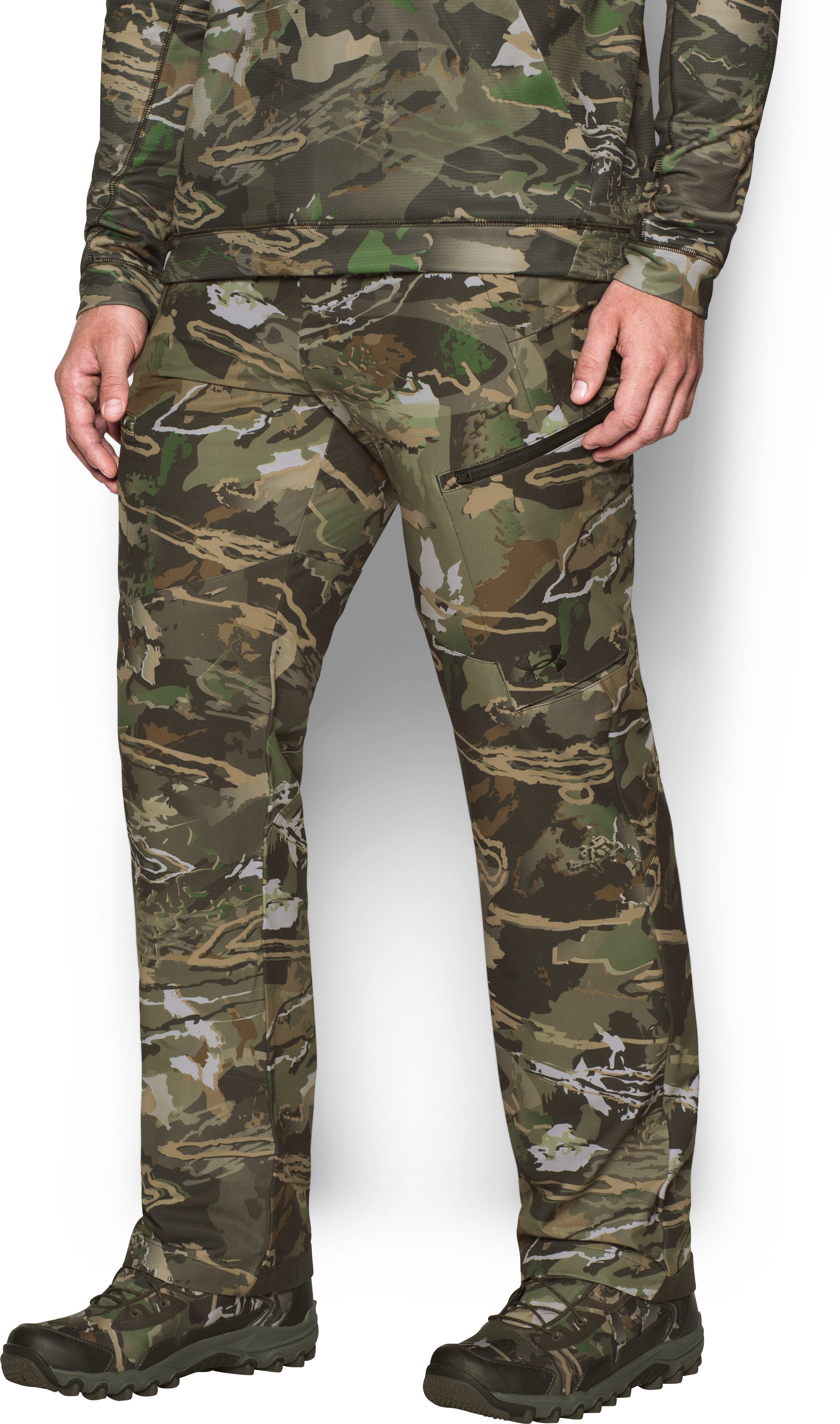 Men's UA Stealth Reaper Early Season Pants, RIDGE REAPER® FOREST, undefined