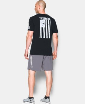 Best Seller Men's UA Freedom Flag T-Shirt   $24.99
