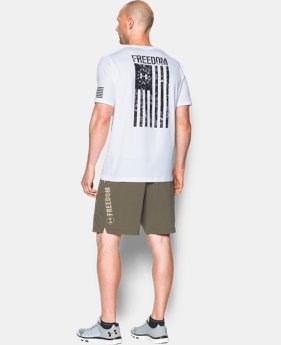 Best Seller Men's UA Freedom Flag T-Shirt  3 Colors $24.99