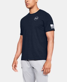 Men's UA Freedom Flag T-Shirt  9  Colors Available $24.99