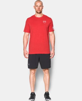 New Arrival Men's UA Freedom Flag T-Shirt  1 Color $24.99