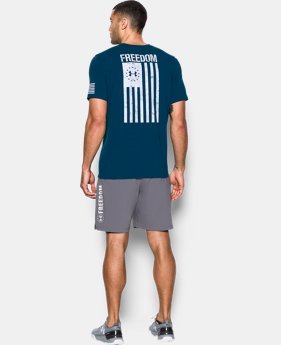 Men's UA Freedom Flag T-Shirt  1 Color $24.99