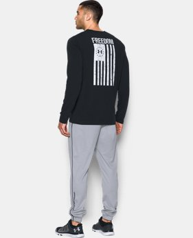 Men's UA Freedom Flag Long Sleeve T-Shirt   $29.99