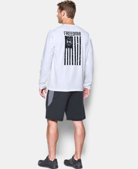 Men's UA Freedom Flag Long Sleeve T-Shirt  2  Colors Available $22.49