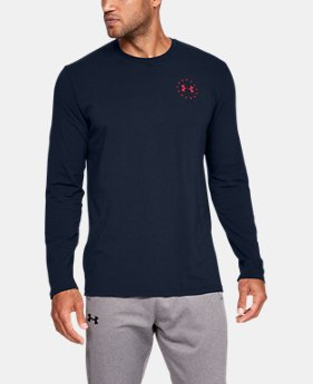 Men's UA Freedom Flag Long Sleeve T-Shirt  4  Colors Available $29.99