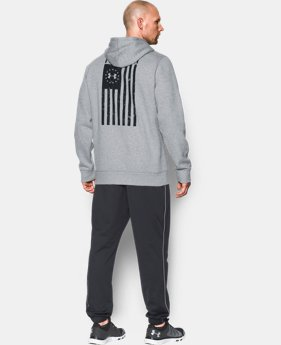 Men's UA Freedom Flag Hoodie  1 Color $59.99