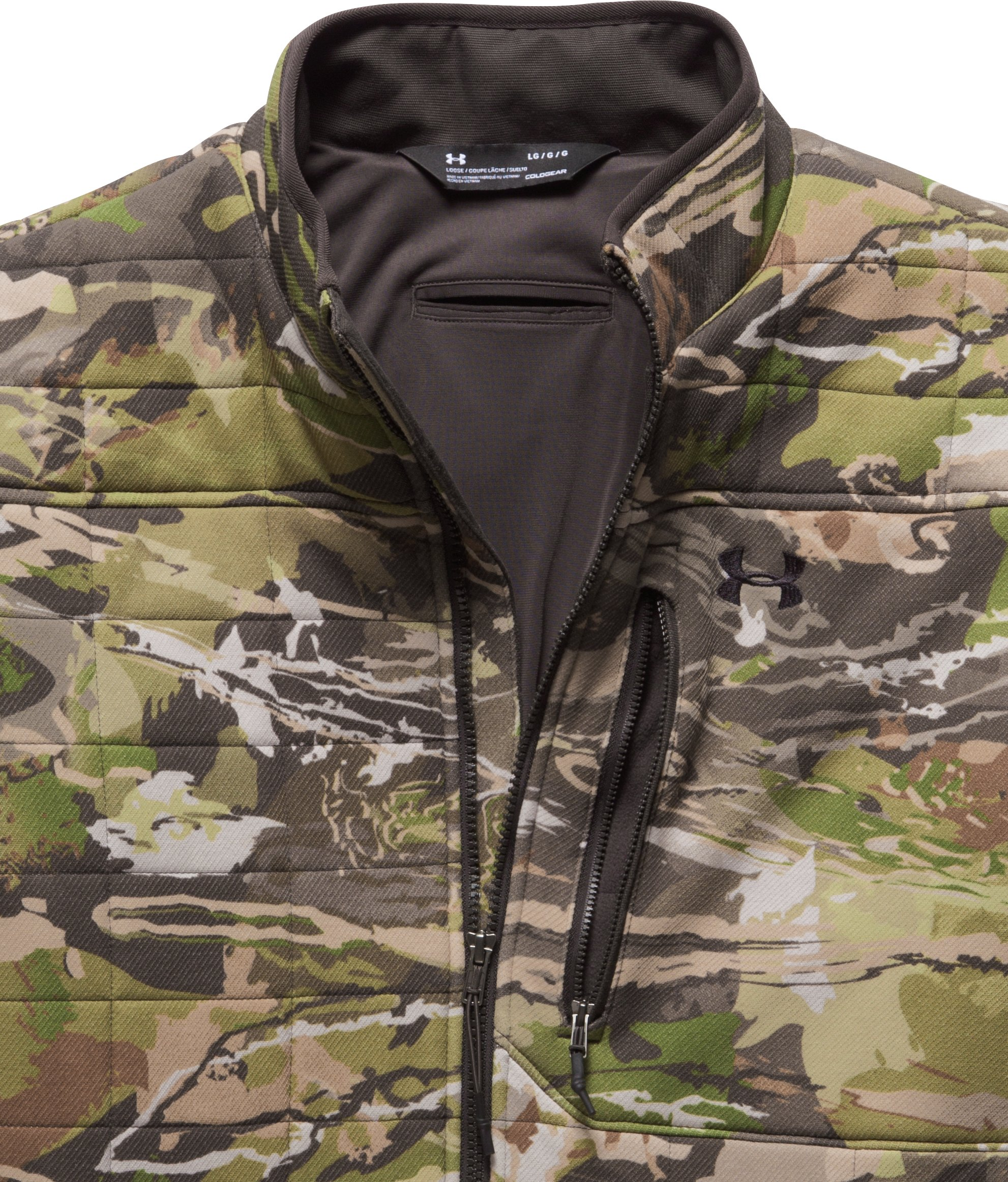 Men's UA Stealth Reaper Extreme Wool Jacket, RIDGE REAPER® FOREST, undefined