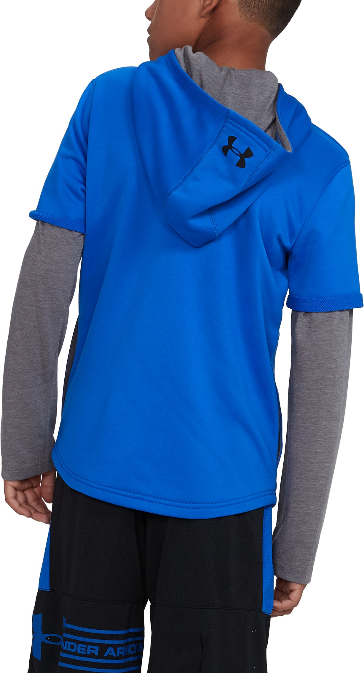 Boys' UA Train to Game Hoodie, ULTRA BLUE,