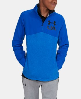 Boys' UA Phenom ¼ Zip  4 Colors $41.24