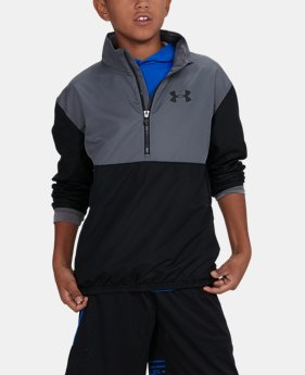 Boys' UA Train To Game Jacket  1  Color Available $49.99