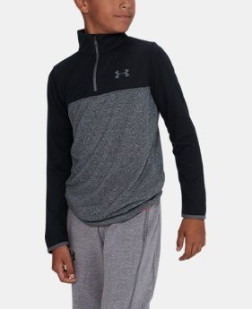 Boys' UA Threadborne™ ¼ Zip  5 Colors $20.99 to $26.99