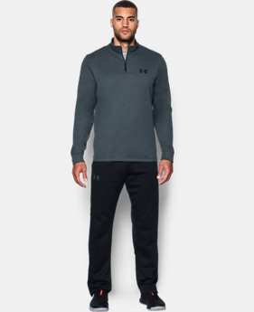 Men's Armour® Fleece Lightweight ¼ Zip  1 Color $64.99