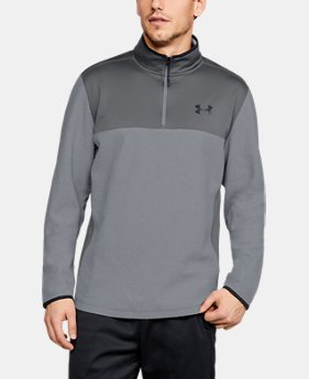 Men's ColdGear® Infrared Fleece ¼ Zip LIMITED TIME ONLY 3  Colors Available $48.99