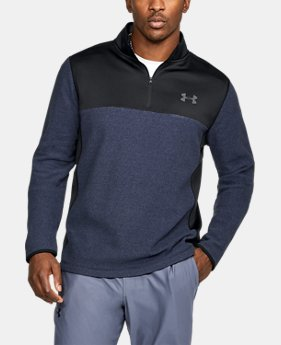 Men's ColdGear® Infrared Fleece ¼ Zip  3 Colors $35 to $52.99