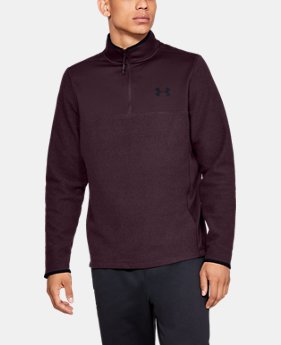 Men's ColdGear® Infrared Fleece ¼ Zip  1  Color Available $69.99