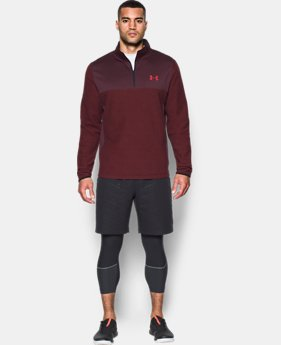 Men's ColdGear® Infrared Fleece ¼ Zip  1 Color $35 to $52.99