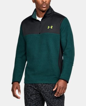 Men's ColdGear® Infrared Fleece ¼ Zip  1 Color $59.99