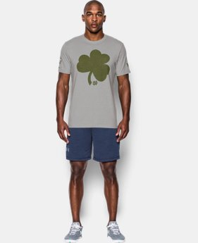 Men's Notre Dame UA Shamrock Series T-Shirt LIMITED TIME: FREE U.S. SHIPPING 1 Color $24.99