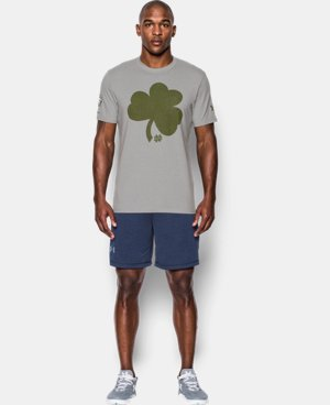 Men's Notre Dame UA Shamrock Series T-Shirt LIMITED TIME: FREE U.S. SHIPPING 1 Color $32.99