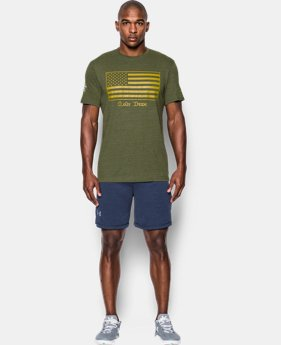Men's Notre Dame UA Flag T-Shirt  1 Color $35.99