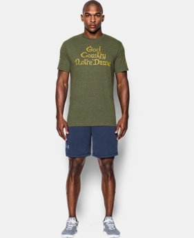 Men's Notre Dame UA Country T-Shirt LIMITED TIME: FREE U.S. SHIPPING 1 Color $35.99