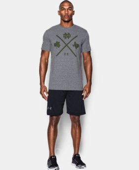 Men's Notre Dame UA 4 Corners T-Shirt LIMITED TIME: FREE U.S. SHIPPING 1 Color $26.99