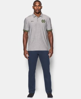 Men's Notre Dame UA Shamrock Series Polo   $79.99