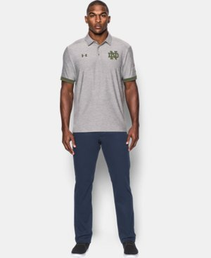 Men's Notre Dame UA Shamrock Series Polo LIMITED TIME: FREE U.S. SHIPPING 1 Color $79.99