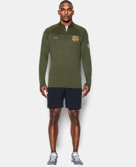 Men's Notre Dame UA Tech™ ¼ Zip LIMITED TIME: FREE U.S. SHIPPING 1 Color $64.99
