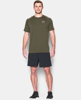 New Arrival Men's UA Freedom Tech™ T-Shirt   1 Color $27.99