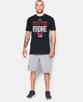 Men's Wisconsin UA Play For More T-Shirt