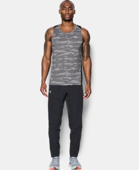 Men's UA Threadborne™ Run Mesh Singlet  4 Colors $29.99 to $39.99